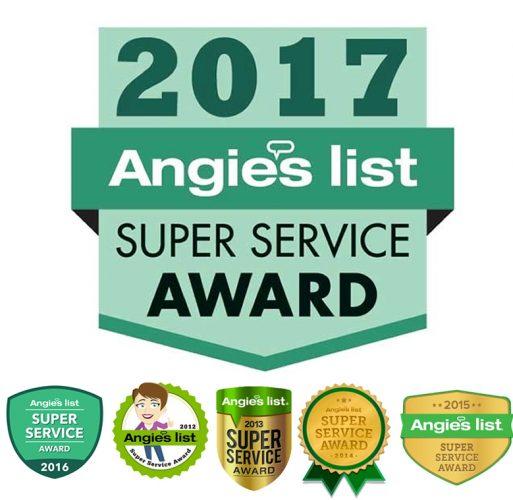 Angies List awards 2017