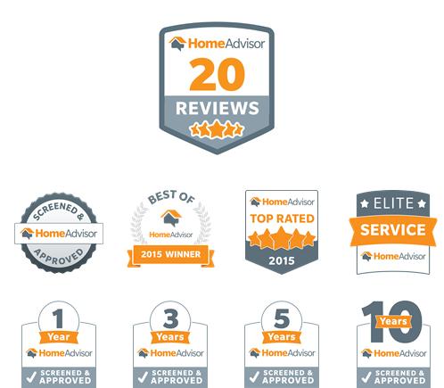 home advisor awards
