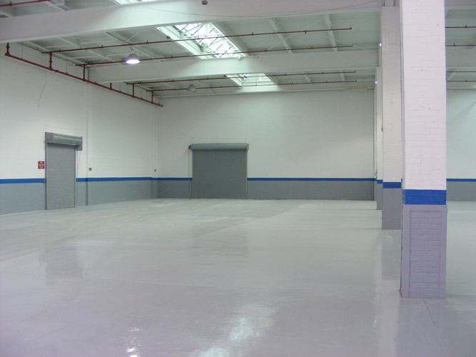warehouse interior painting NJ