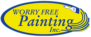 worry free painting logo