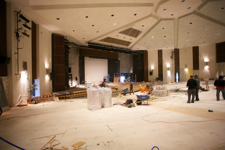 painting auditorium