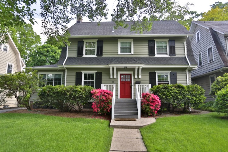 exterior home painting job Essex County