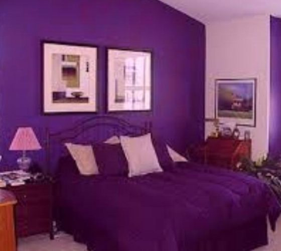 Bedroom Paint Colors for Women purple