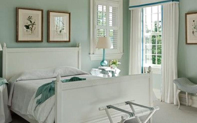 Traditional Bedroom Paint Colors white